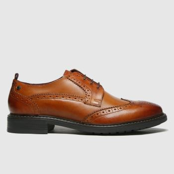Base London Brown Lennox Mens Shoes