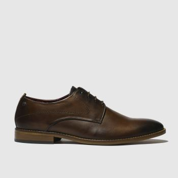 Base London Brown Script Mens Shoes