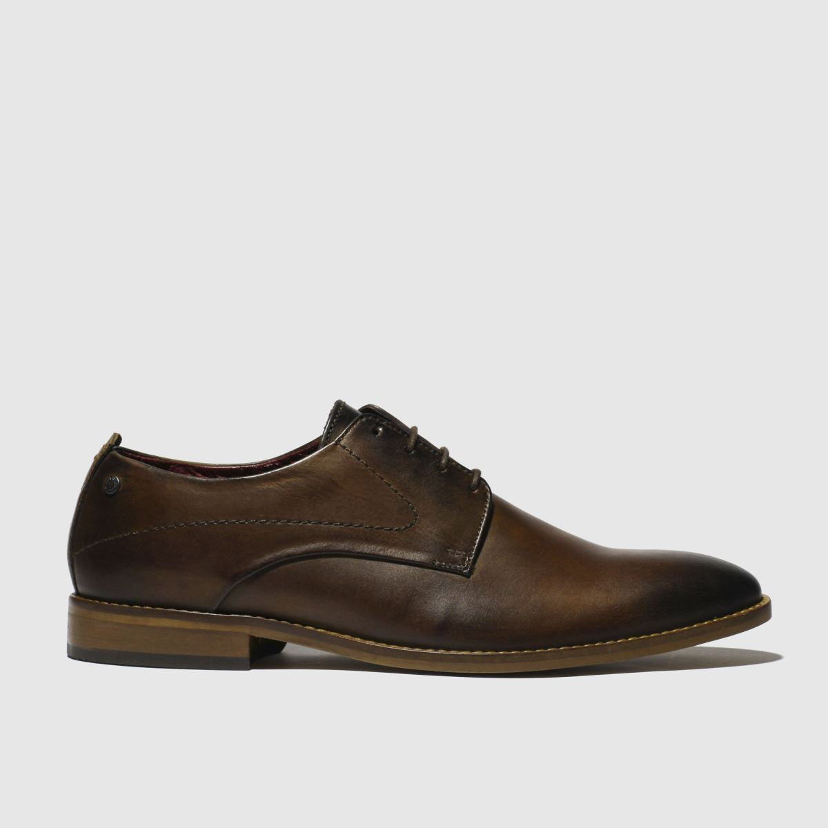 Base London Brown Script Shoes