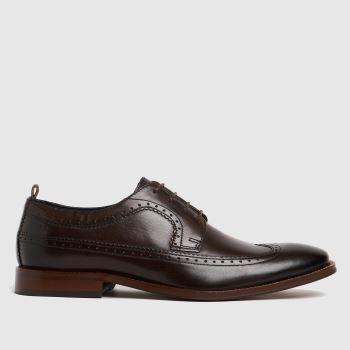 Base London Brown Havisham Mens Shoes