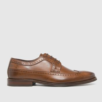 Base London Tan Havisham Shoes