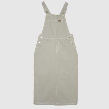 Santa Cruz Light Grey Nolan Carpenter Dre Womens Dresses & Skirts