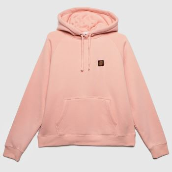 Santa Cruz Pink Classic Label Hoodie Womens Tops