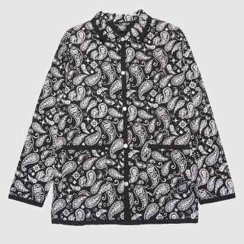 Santa Cruz Black & White Screaming Paisley Womens Jackets