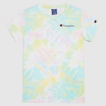 Champion Multi Tee Shirt Tie Dye Womens Tops