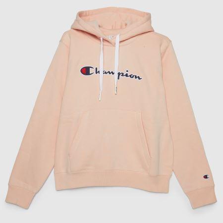 Champion Logo Hooded Sweatshirttitle=