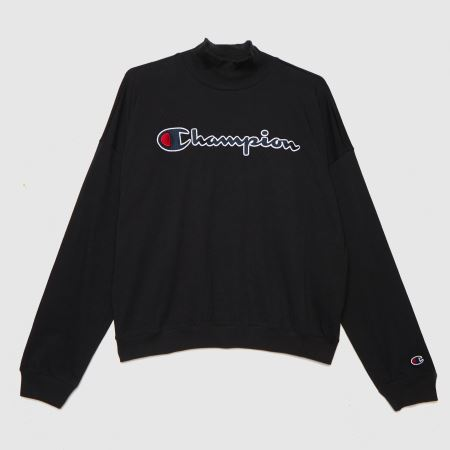 Champion Crewneck Ls T Shirttitle=