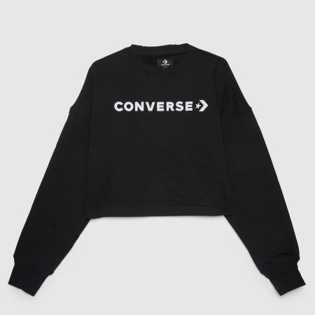 Converse Embroidered Cropped Crewtitle=