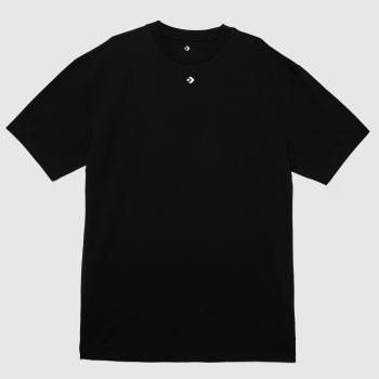 Converse Black Oversized T-shirt Dress Womens Dresses & Skirts