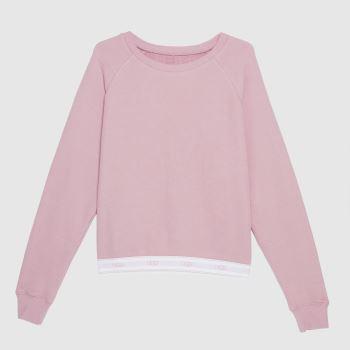 UGG Pink Nena Sweatshirt Womens Tops