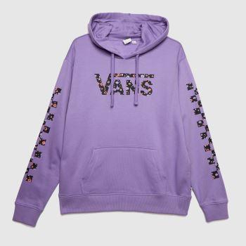 Vans Purple Wyld Tangle Ii Hoodie Womens Tops