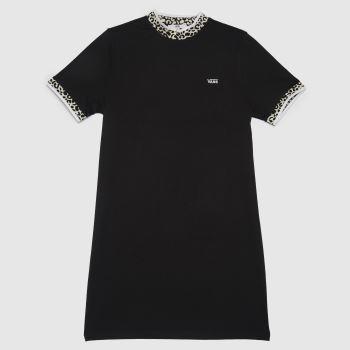 Vans Black Wild Hi Roller Dress Womens Dresses & Skirts