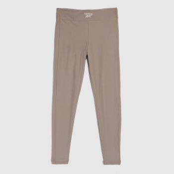 Reebok Grey Wide Cozy Knit Legging Womens Bottoms