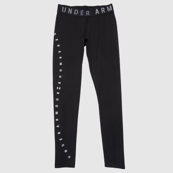 Under Armour Black & White Favorite Graphic Leggings Womens Bottoms