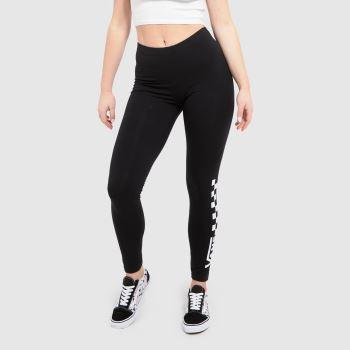 Vans Black & White Chalkboard Legging Womens Bottoms