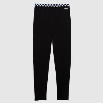 Vans Black & White Bladez Check Legging Womens Bottoms