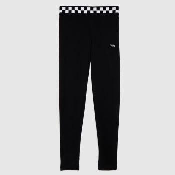 Vans Black & White Checkmate Legging Womens Bottoms