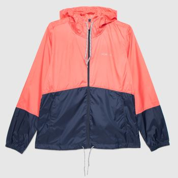 Columbia  Pale Pink Flash Windbreaker Womens Jackets