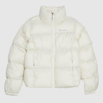 Columbia  White Puffer Womens Jackets