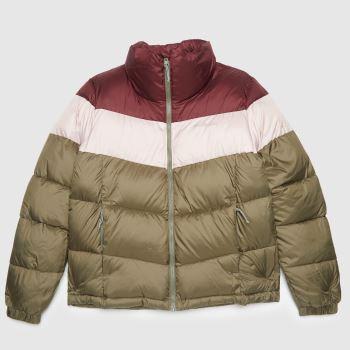 Columbia  Green Puffect Womens Jackets