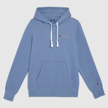 Champion Blue Hooded Sweatshirt Tops