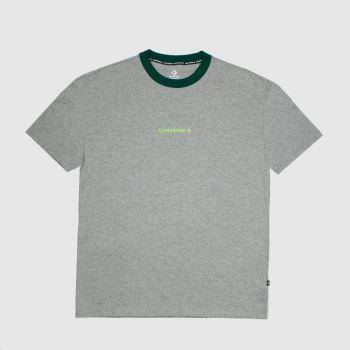Converse Grey Os Ringer T-shirt Mens Tops
