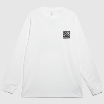 Converse White & Black Great Since 08 Tee Mens Tops