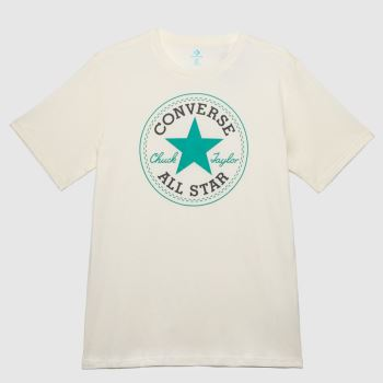 Converse Stone Patch Graphic Tee Mens Tops