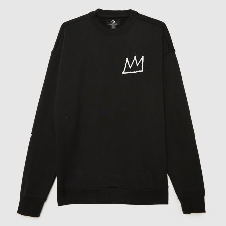 Converse Basquiat Fleece Sweatshirttitle=