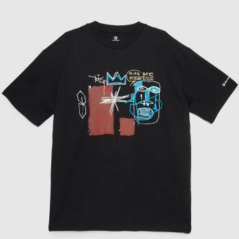 Converse Black Basquiat Elevated Mens Tops
