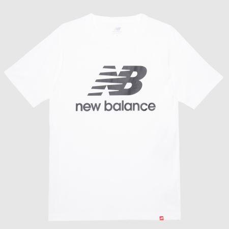 Newbalance Essentials Stacked Logo Teetitle=