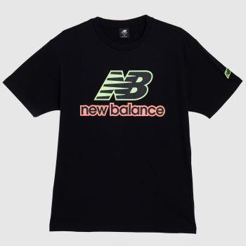 New balance Black Athletics Psy Varsity T-shirt Mens Tops