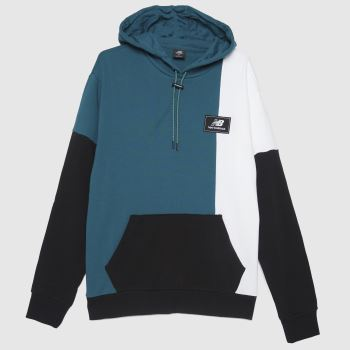 New balance Navy & White Athletic Higher Hoodie Mens Tops