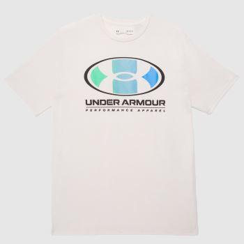 Under Armour Natural Lockertag T-shirt Mens Tops