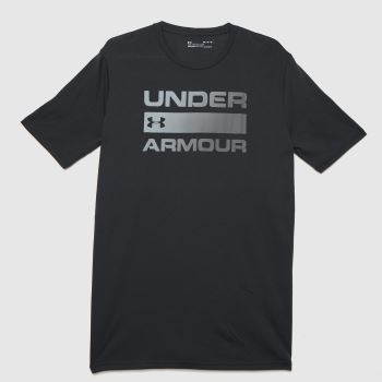 Under Armour Black Team Issue Wordmark T-shirt Mens Tops