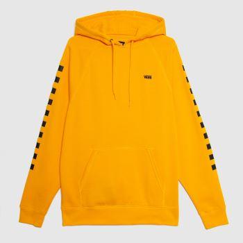 Vans Yellow Versa Hoodie Mens Tops