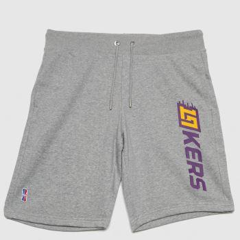 Champion Grey Oo Bermuda Shorts Nba Mens Bottoms