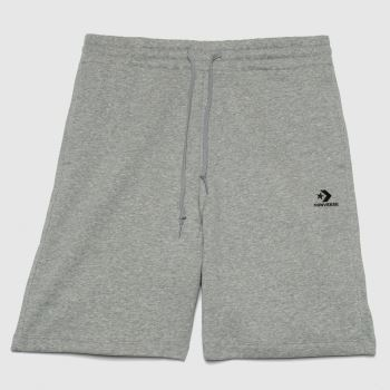 Converse Light Grey Star Chevron Shorts Mens Bottoms
