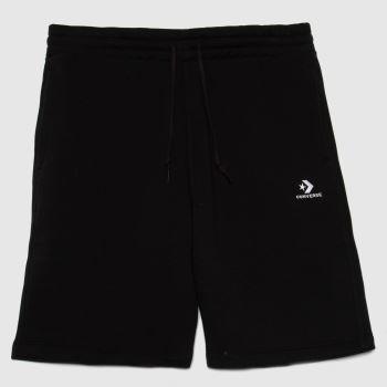 Converse Black Star Chevron Shorts Mens Bottoms