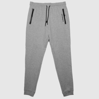 Converse Grey Slim Fit Paneled Jogger Mens Bottoms