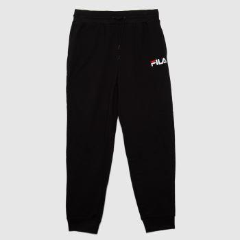 Fila Black Jakoob Logo Pant Mens Bottoms