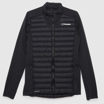 berghaus Black Hottar Hybrid Jacket Mens Jackets