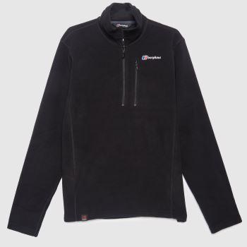 berghaus Black Prism Micro Fleece Mens Jackets