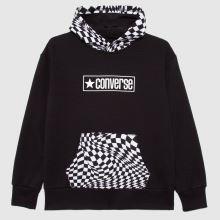 Converse Boys Checker Print Hoodie,1 of 4