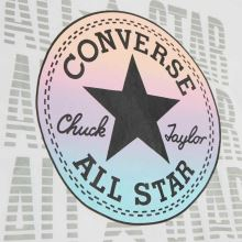 Converse Girls Ruched Boxy Ombre,4 of 4