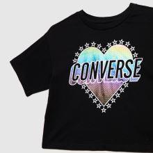 Converse Girls Heart Boxy T-shirt,2 of 4