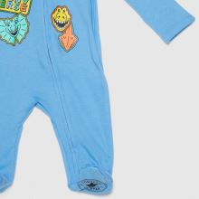 Converse Boys Baby Coverall,3 of 4