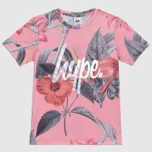 Hype Girls T-shirt Pink Hawaii,1 of 4