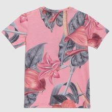 Hype Girls T-shirt Pink Hawaii,3 of 4