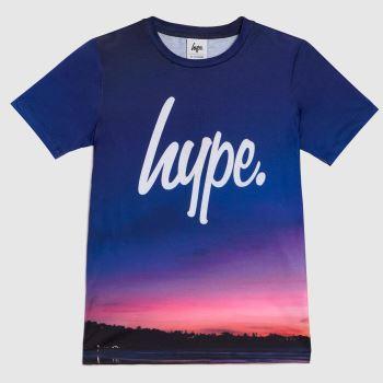 Hype Multi Boys T-shirt Midnight Boys Tops